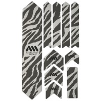All Mountain Style Basic Honeycomb Frame Guard - Extra (Clear/Zebra)
