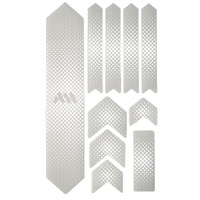 All Mountain Style Basic Honeycomb Frame Guard - Extra (Drops/White)