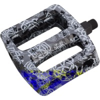 "Odyssey Twisted PC Pedals - 9/16"" - Pair (Monogram Print Black)"