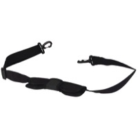 Ortlieb Shoulder Straps - Shoulder Strap w/Upgrade Pad and Snap Hook, Black