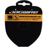 Jagwire Basics Galvanized Brake Cable - 1.6mm x 2000mm (Road and Mountain ends)