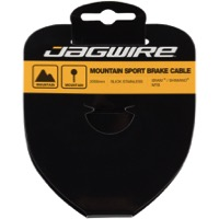 Jagwire Sport Slick Stainless Brake Cables - Shimano 2000mm (Mountain Only)