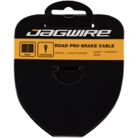 Jagwire Pro Slick Polished Stainless Brake Cables - Polished/Stainless 2000mm (Shimano/SRAM Road Only)