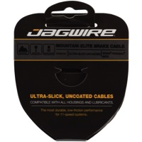 Jagwire Elite Ultra-Slick Uncoated Brake Cables - Shimano/SRAM 2000mm, Each (Mountain Only)