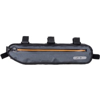 Ortlieb Frame-Pack Toptube Frame Bag - Slate w/Orange Zipper
