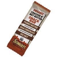 Honey Stinger Cracker N' Nut Butter Bars - Peanut Butter and Milk Chocolate (Box of 12)