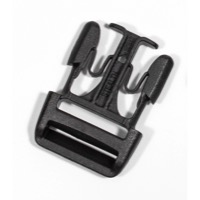 Ortlieb Replacement Buckles - Stealth 25mm Buckle, Single (Male Part Only)