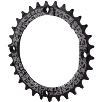 Race Face Narrow Wide Chainrings 2018 - 9/10/11/12 Speed - 104mm x 30t (Black)