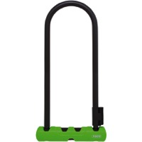 "Abus Ultra 410 U-Locks - 11"" x 4.25"" (Black/Green)"