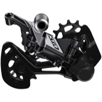 Shimano RD-M9100 XTR Rear Derailleur - 12 Speed - Medium Cage, GS (Black/Grey)