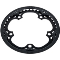 Brompton Chainring and Guard Units - 130mm x 44 Tooth (Black/Black)