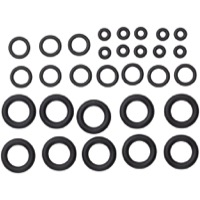 Avid/Sram Bleed Kit Replacement O-Ring Kits - Replacement O-Ring Kit, Pro Bleed Syringe w/Bleeding Edge (30 Piece)