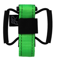 Backcountry Research Camrat Road Saddle Strap - Hot Lime
