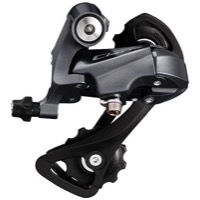 Shimano RD-R2000 Claris Rear Derailleur - 8 Speed - GS, Medium Cage (Grey)