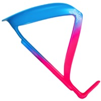 Supacaz Fly Alloy Water Bottle Cage - Neon Pink/Neon Blue