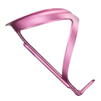 Supacaz Fly Alloy Water Bottle Cage - Neon Pink