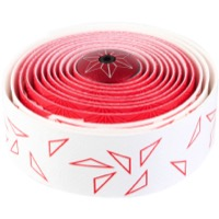 Supacaz Super Sticky Kush Bar Tape - Starfade White and Red