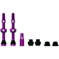Muc-Off Tubeless Valve Kit - 44mm Valve Kit (Purple)