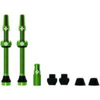 Muc-Off Tubeless Valve Kit - 60mm Valve Kit (Green)
