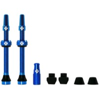 Muc-Off Tubeless Valve Kit - 60mm Valve Kit (Blue)