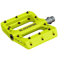Blackspire Nylotrax Pedals - Pair (Yellow)