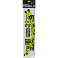 Race Face ARC Offset Rim Decal Kits - Small Offset Rim Decal Kit, Neon Yellow (389C)
