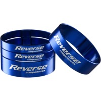 Reverse Components Ultralight Headset Spacer Kit - Kit (Blue)