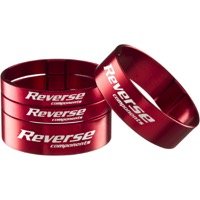 Reverse Components Ultralight Headset Spacer Kit - Kit (Red)