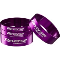 Reverse Components Ultralight Headset Spacer Kit - Kit (Purple)