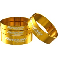 Reverse Components Ultralight Headset Spacer Kit - Kit (Gold)