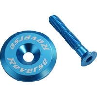 Reverse Components Headset Top Cap/Bolt - Light Blue