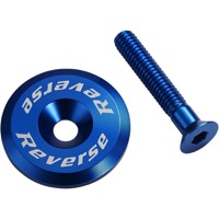 Reverse Components Headset Top Cap/Bolt - Blue