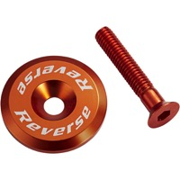 Reverse Components Headset Top Cap/Bolt - Orange