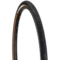 Panaracer GravelKing SK Tubeless Ready Tires - 700 x 50c, Folding Bead (Black Tread/Brown Sidewall)