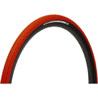 Panaracer GravelKing SK Tubeless Ready Tires - 700 x 35c, Folding Bead (Orange Tread/Black Sidewall)