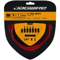 Jagwire Universal Pro 1x Shift Cable/Housing Set - Red
