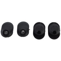 Problem Solvers Bubs Di2 Frame Plugs - 6 x 6mm Di2 Frame Plug with Hole (Bag of 4)