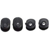 Problem Solvers Bubs Di2 Frame Plugs - 7 x 8mm Di2 Frame Plug with Hole (Bag of 4)