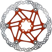 Hope Floating 2 Piece Rotors - 200mm 6-Bolt (Orange)