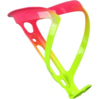 Supacaz Fly Alloy Water Bottle Cage - Neon Yellow/Neon Pink (Limited Edition)