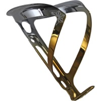 Supacaz Fly Alloy Water Bottle Cage - Gold/Platinum (Limited Edition)