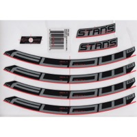 "Stans EX3 Decal Kits - 27.5"" Flow EX3 (Silver)"