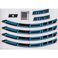 "Stans EX3 Decal Kits - 27.5"" Flow EX3 (Blue)"