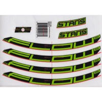 "Stans EX3 Decal Kits - 27.5"" Flow EX3 (Green)"