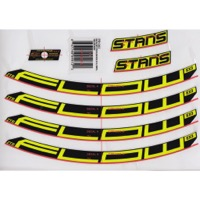"Stans EX3 Decal Kits - 27.5"" Flow EX3 (Yellow)"