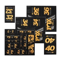 Fox Racing Shox Heritage Decal Sets v.3 - Gold