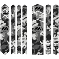 All Mountain Style Basic Honeycomb Frame Guard - Full Protection (Clear/Camo)