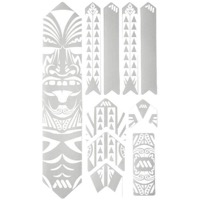 All Mountain Style Basic Honeycomb Frame Guard - Extra (Maori/White)