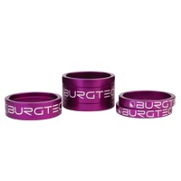 "Burgtec Headset Spacer Kit - 1 1/8"" Kit (Purple Rain)"