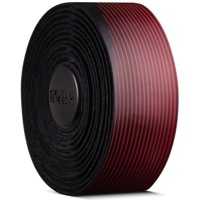 Fizik Vento Microtex Tacky Bi-Color Handlebar Tape - 2.0mm Thick - Black/Red